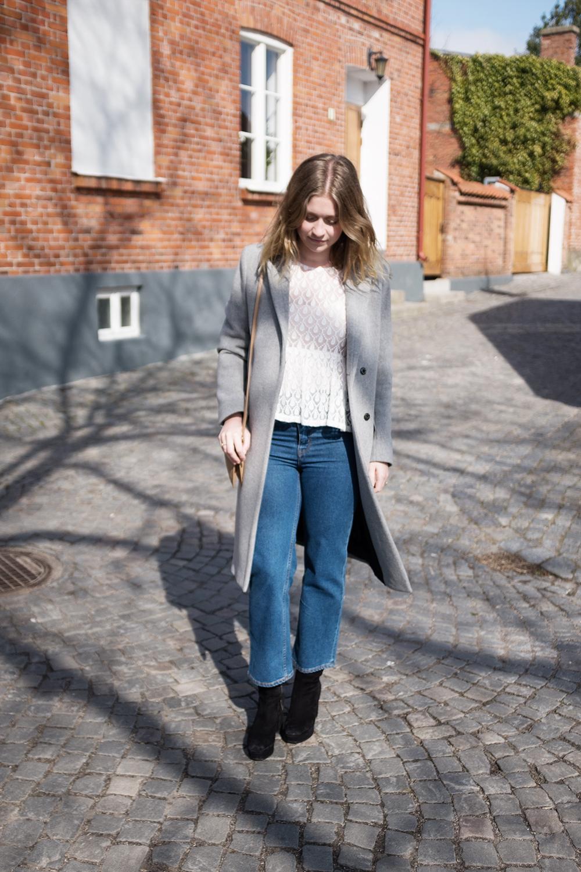 Vårvärme och nya jeans