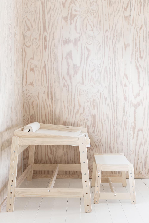 Skrivbord till barnrummet