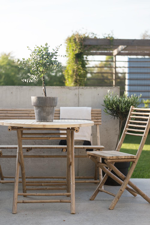 Trädgårdsmöbler av bambu - Rebecca Centrén