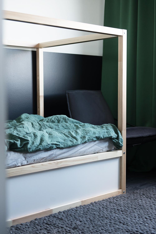 Gröna sängkläder