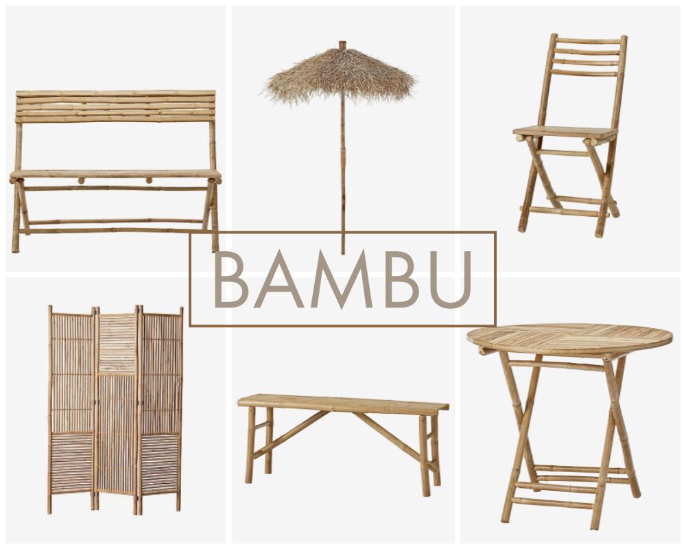 Bambumöbler